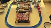 プラレール 回転寿司 お皿 固定 作り方 100均 タブレット ユーチューブ YouTube